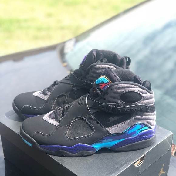 052d868c7007 Men s Air Jordan Retro 8 Aqua